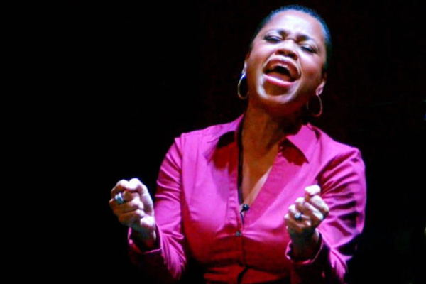 Adjunct faculty Gospel artist and storyteller, Delores Burgess, Fire in the Heart